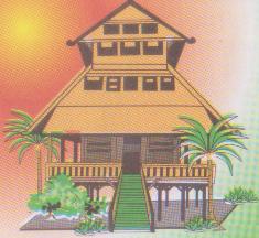 Traditional Houses Rumah Adat Rumah Tradisional In Indonesia